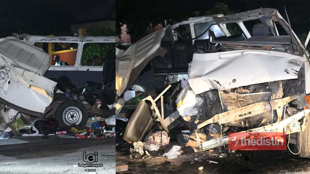 8 Confirmed Dead, Many in Critical Condition in a Gory Accident At Kpong