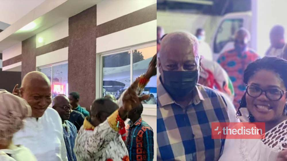 Mahama And Members Of The NDC Hold Party To Celebrate Alban Bagbin's Victory (Photos)