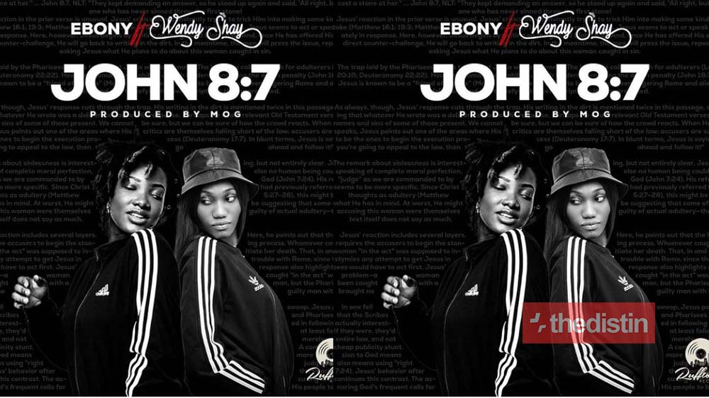 "Ebony Reigns Set To Release Her New Song Titled ""John 8:7"" Featuring Wendy Shay (Photo)"