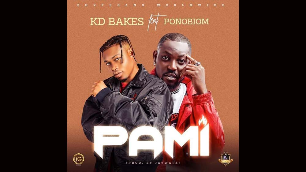 """KD Bakes """"Pami"""" Ft. Ponobiom (Prod. by Jaywatz) 