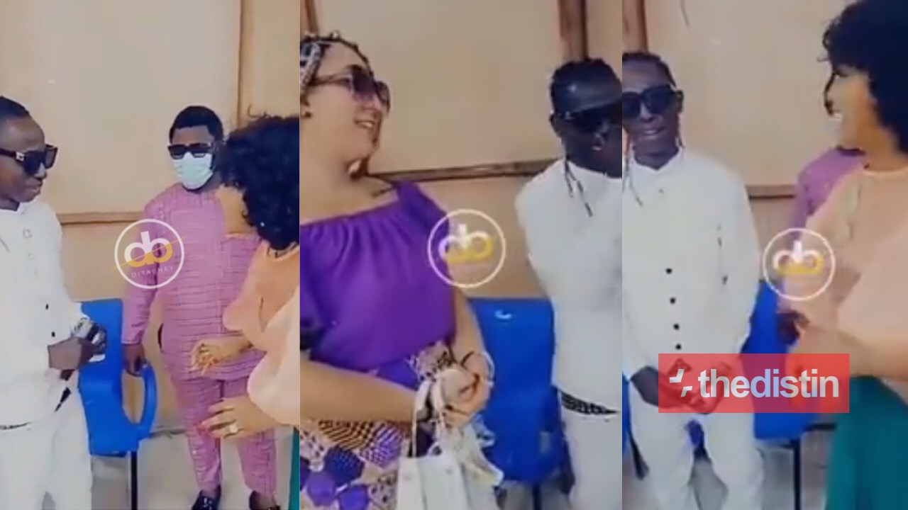 McBrown Meets Patapaa And His Wife