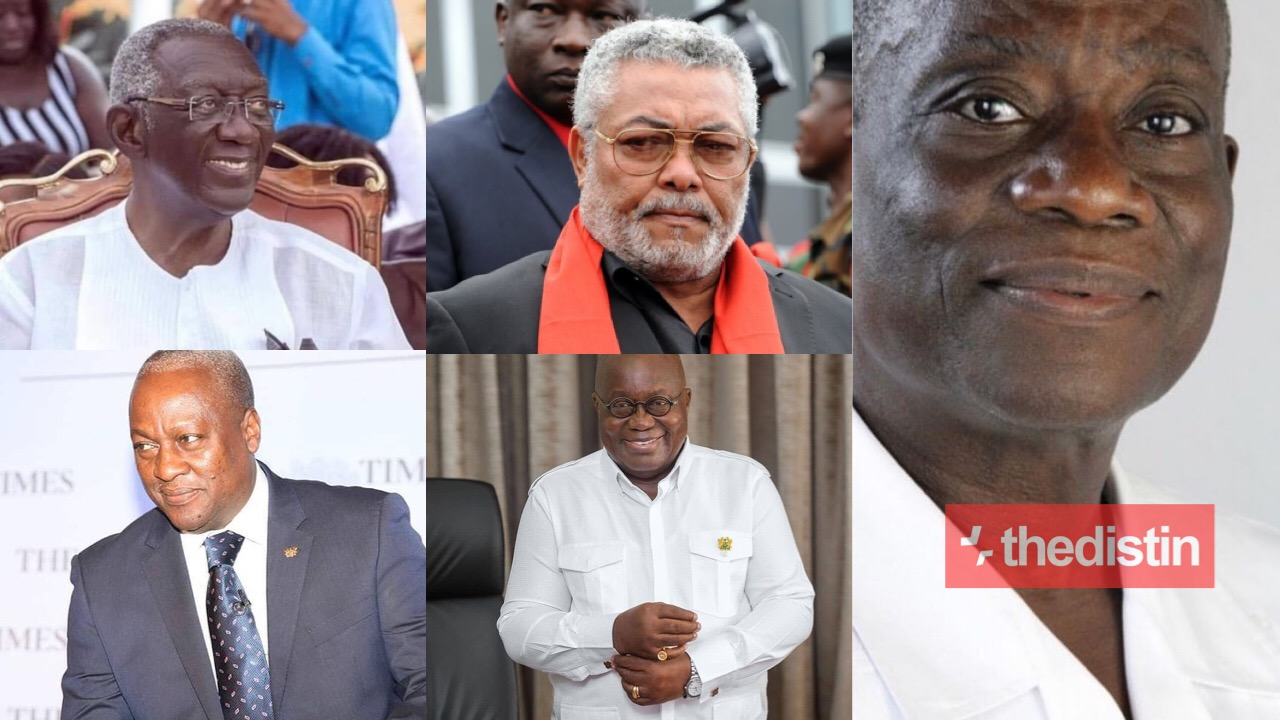 Presidents Of The Fourth Republic Of Ghana