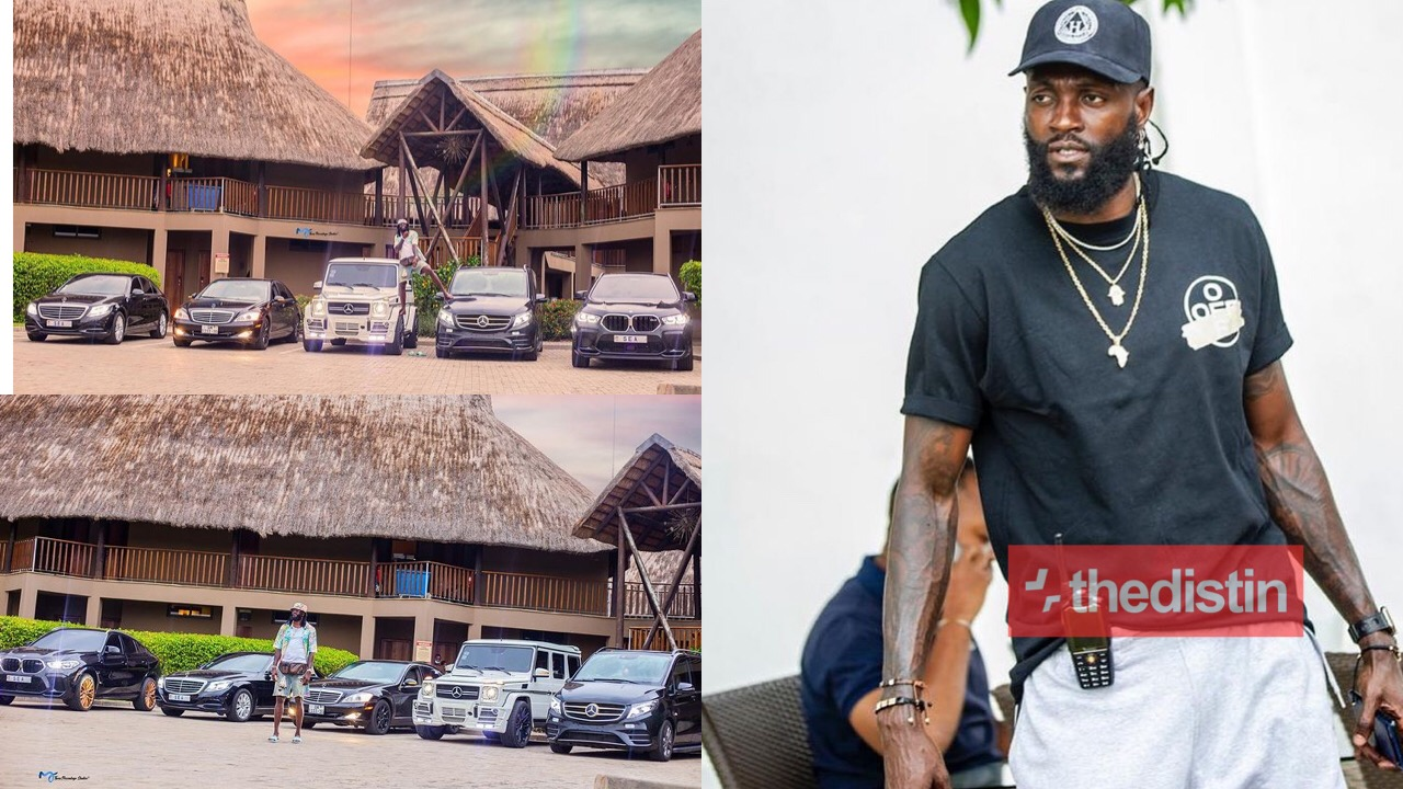 Emmanuel Adebayor's Fleet Of Luxurious Cars