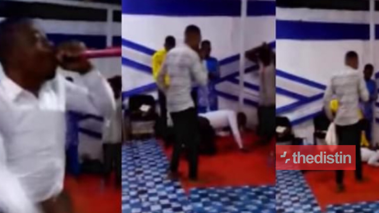 Ghanaian Pastor Collapses And Dies While Praying With Members In Church