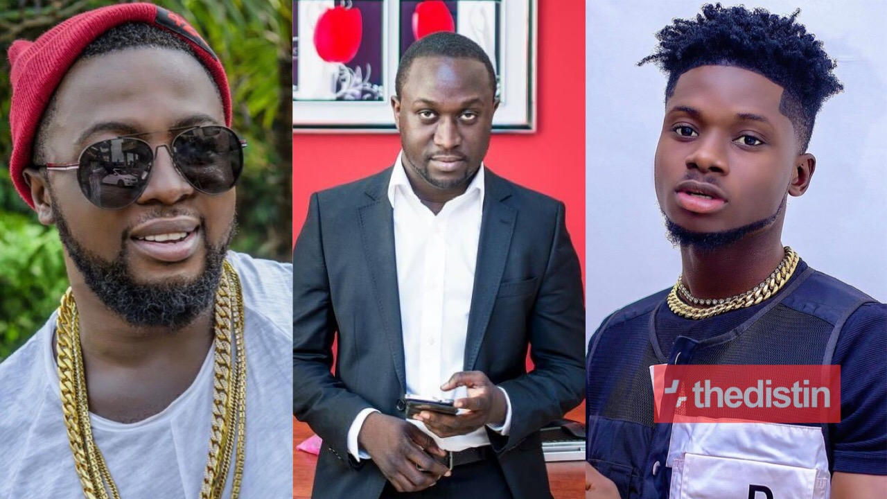Richie Mensah, Kuami Eugene and Guru