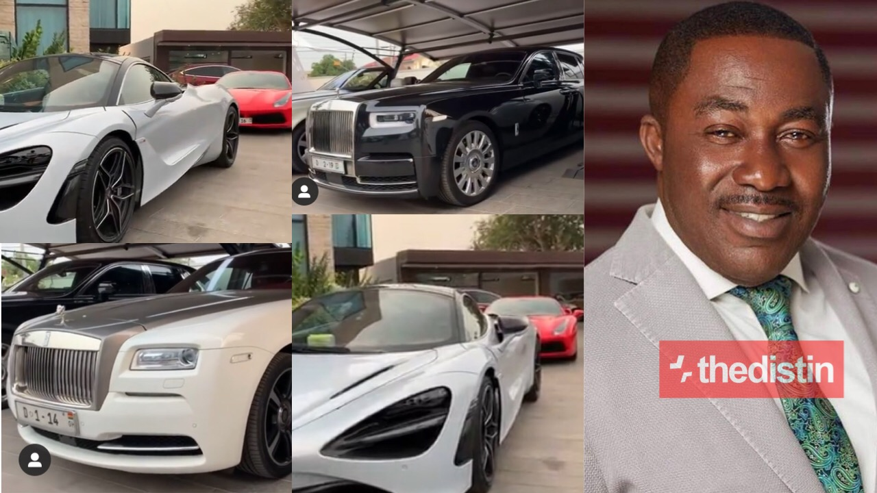 Osei Kwame Despite's Luxurious Cars