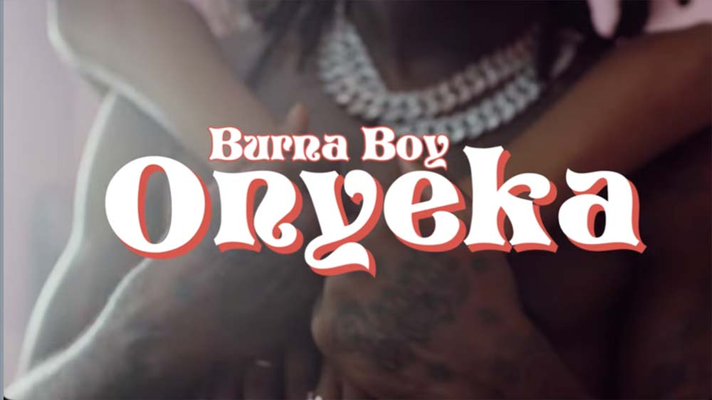 "Nigerian artist Burna Boy just released his new single titled ""Onyeka"" off his album ""Twice As Tall"""