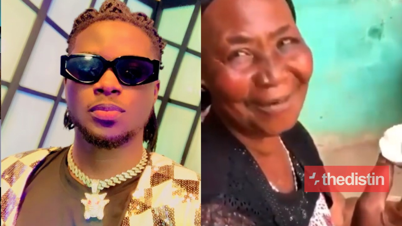 Kuami Eugene and old woman