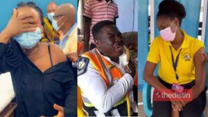 Nana Aba, Mcbrown, Yvonne Nelson, Afia Schwar, Caroline, And Other Stars Take Their COVID-19 Vaccine, See Their Funny Reactions (Videos, Photos)