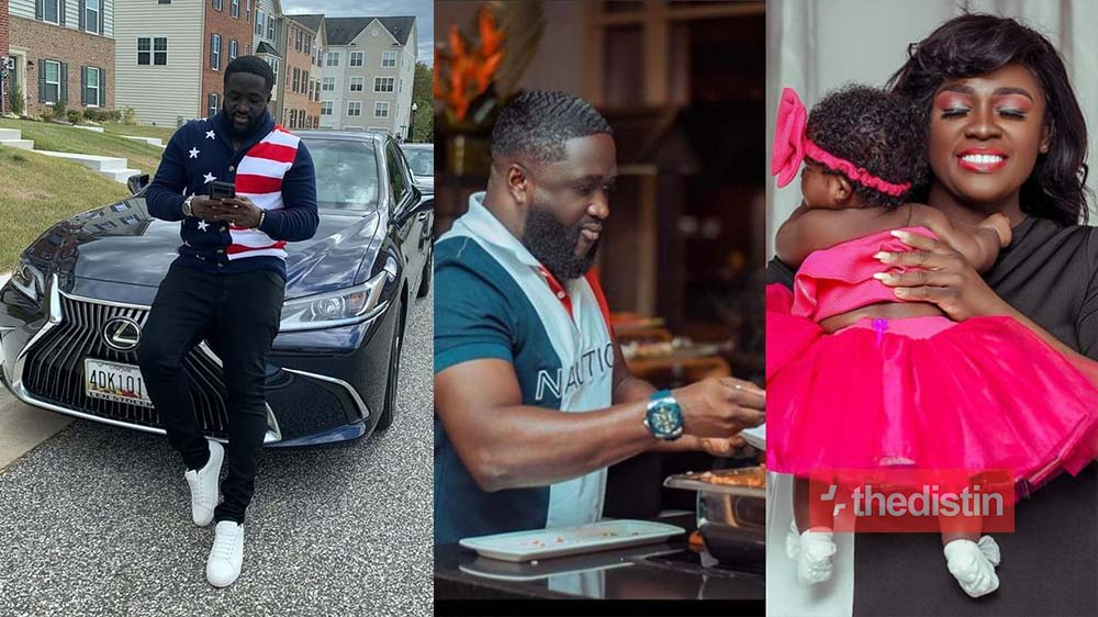 """Just In: Obrempong Is The Real """"Papano"""" Responsible For Tracey Boakye's Current Pregnancy And Father Of Her Daughter Nyhira (Photos)"""