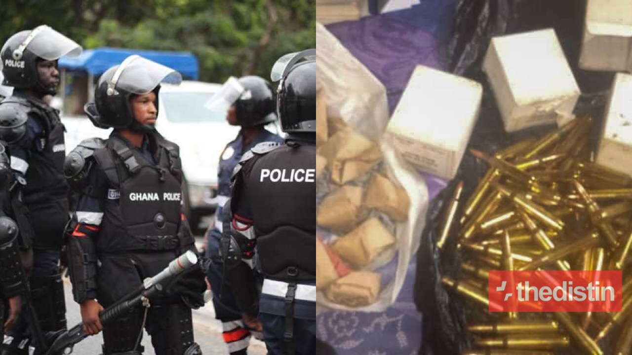 pOLICE ARREST SUSPECTS WITH Ammunition