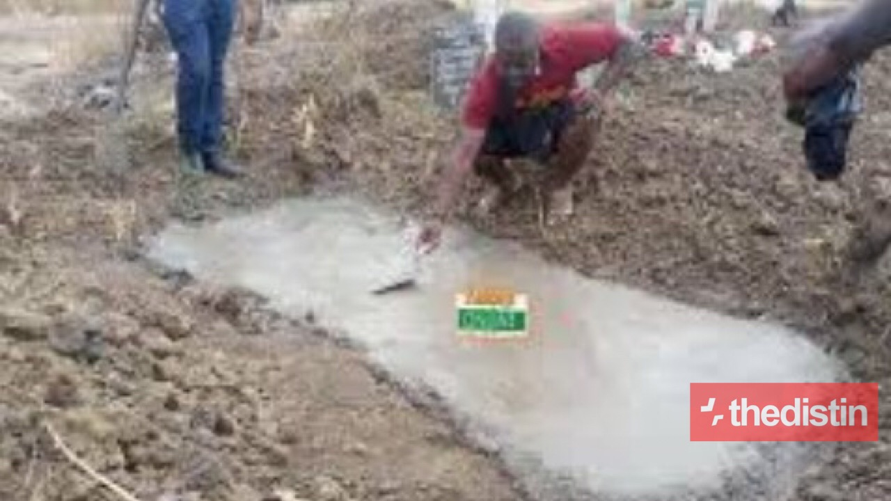 Apam Drowning: Families Cover Graves With Concrete