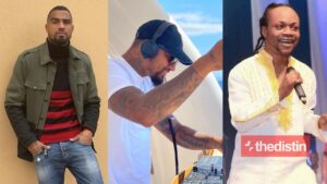 Kevin-Prince Boateng and Daddy Lumba