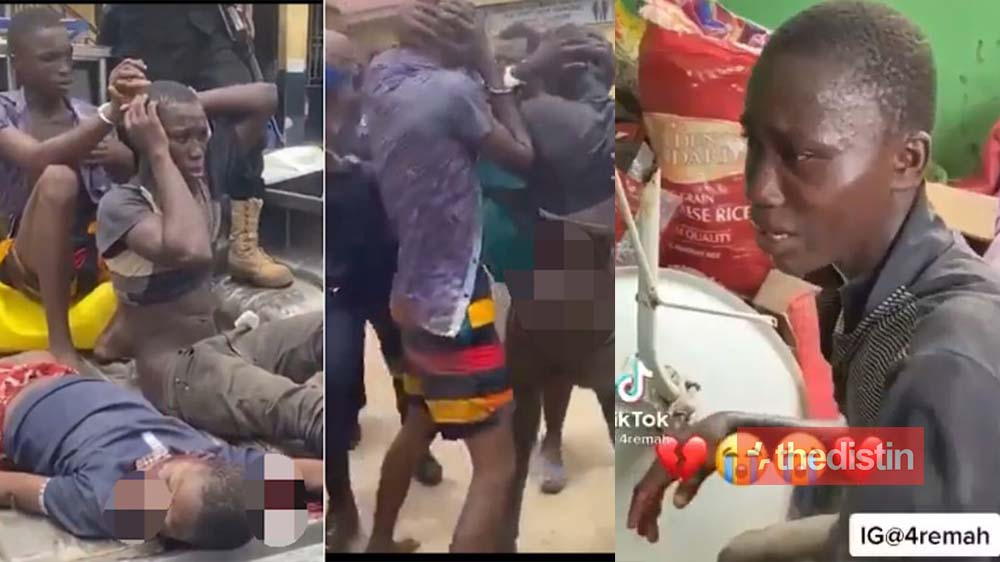 This Is How The 10-year-old Boy Was Killed In Kasoa By His Friends For Money Rituals (Video)
