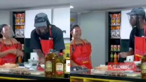 Watch The Funny Moment Mcbrown Was Speaking Italian With Pappy Kojo On Mcbrown's Kitchen (Video)