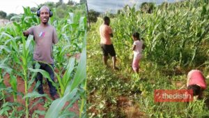 Meet Sibusiso Mogale: Farmer Without Arms, Raised By Single Mom Inspires Mzansi With Success (Photos)
