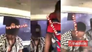 Lady Confronts Man For Allegedly Molesting Her In A Bus