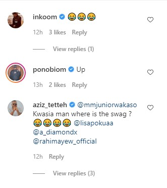 Stephen Appiah, Inkoom, Others Reacts to Wakaso's throwback picture of himself. 3
