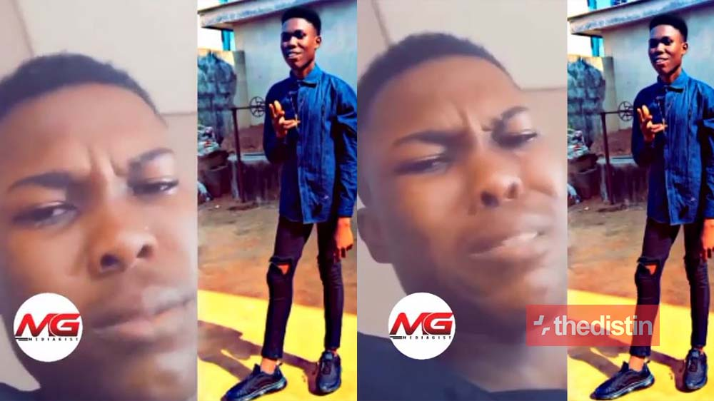 """If you give birth to a sickle cell child, kill it"" - Young Man With Sickle Cell Cries Uncontrollably While Taking His Drugs In Pain (Video)"