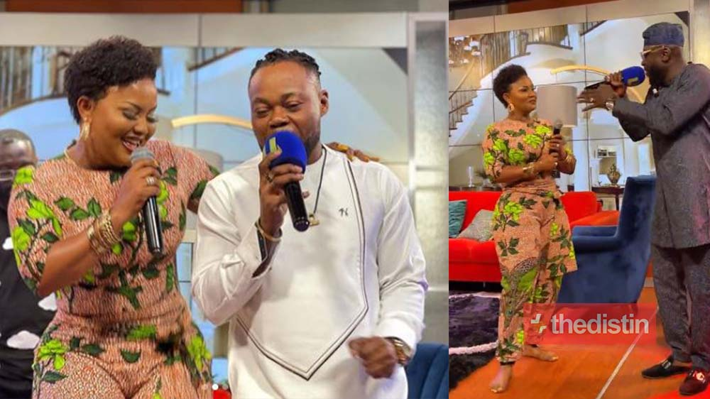 McBrown Excites Her Fans On United Showbiz As She Sings Beautifully With High Life Legends Dada KD & Kofi Nti On UTV (Videos)