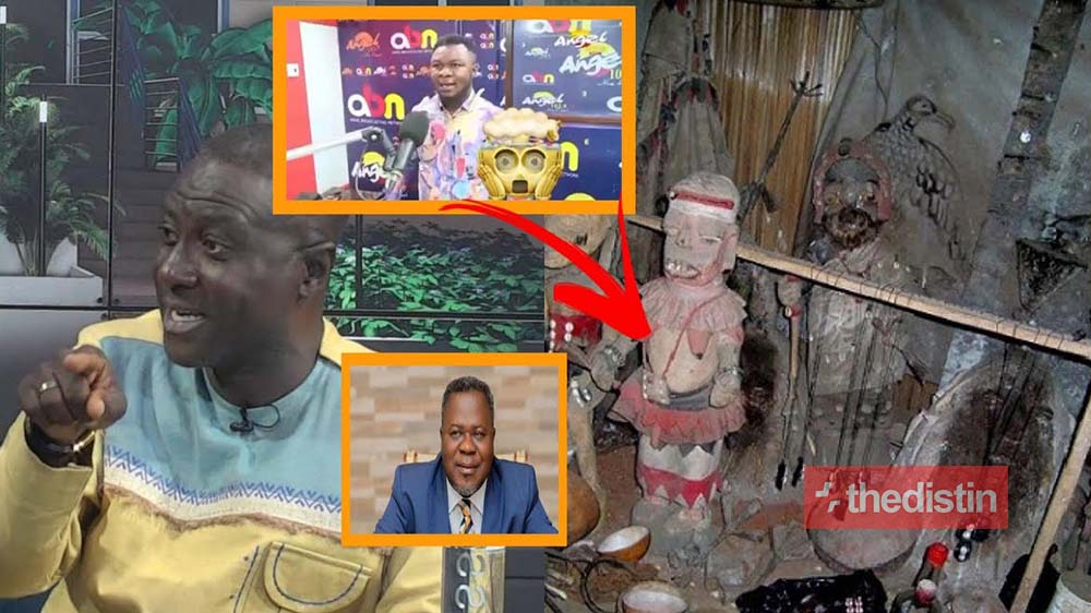 Dr Kweku Oteng's Brother Exposes Captain Smart, Says He Loves Juju And Stole Ghc2,500 (Video)