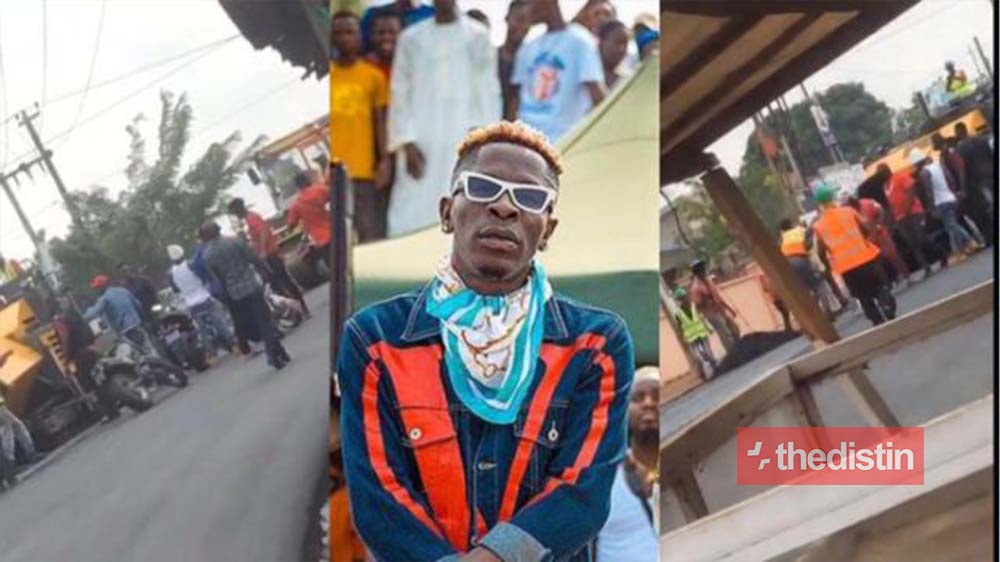 Project Manager Of Adjiriganor Road Construction Reports Shatta Wale To East Legon Police After Allegedly Beaten Workers