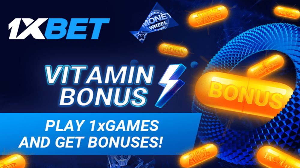 How To Win Exciting Bonuses With The Vitamin Promo at 1xBet