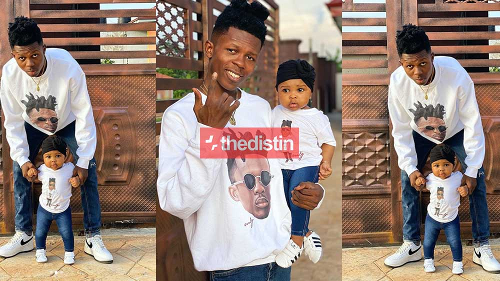 Strongman Burner And His Beautiful Daughter, Simona Giving Us Daddy & Daughter Goals As They Chill Together | Photos