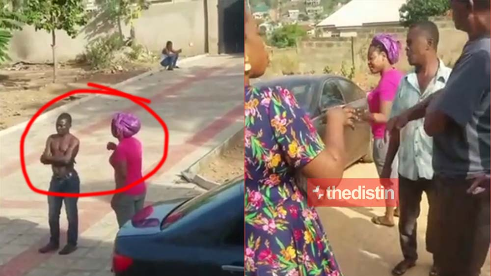 Joyce Blessing Storms Her Sister-In-Law's House For Her Children
