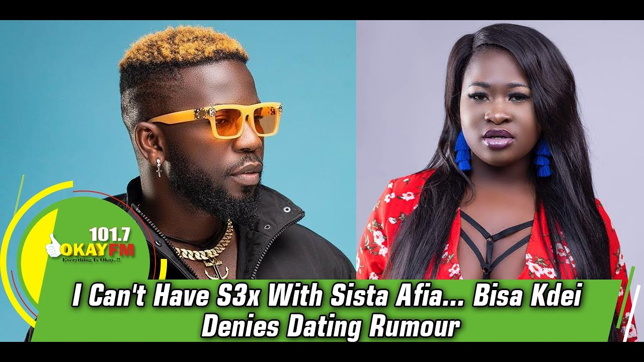 Bisa K'dei Clears The Air As He Talks About His Relationship With Sista Afia