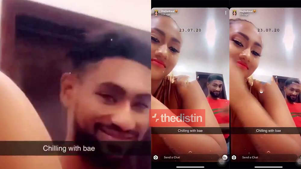 Video: Hajia 4 Real Shows Her Boyfriend's Face For The First Time