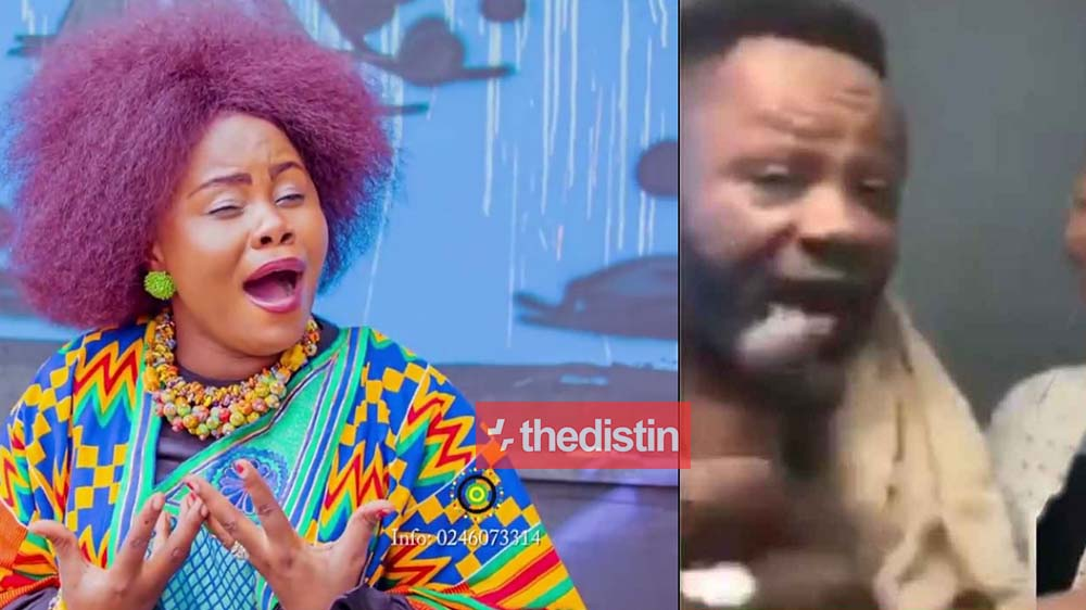 Gospel Singer Anita Afriyie Shows Her Other Side As She Fights With Her Father On Facebook Live | Watch
