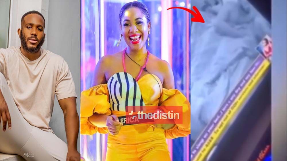 Video Of Kiddwaya Wearing His Boxer Shorts After Chopping Erica Several Rounds | Watch