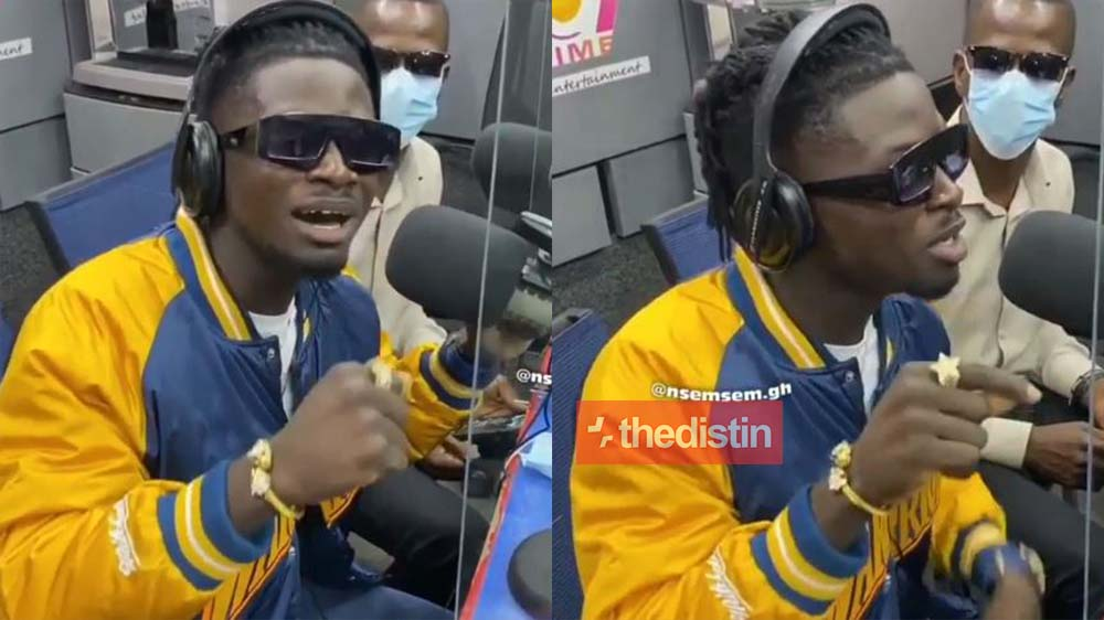 Kuami Eugene Turns Rapper?, Check Out This New Video Of Him Rapping On Joy FM | Watch Video