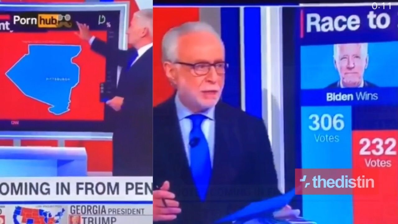 CNN footages on 2020 US election