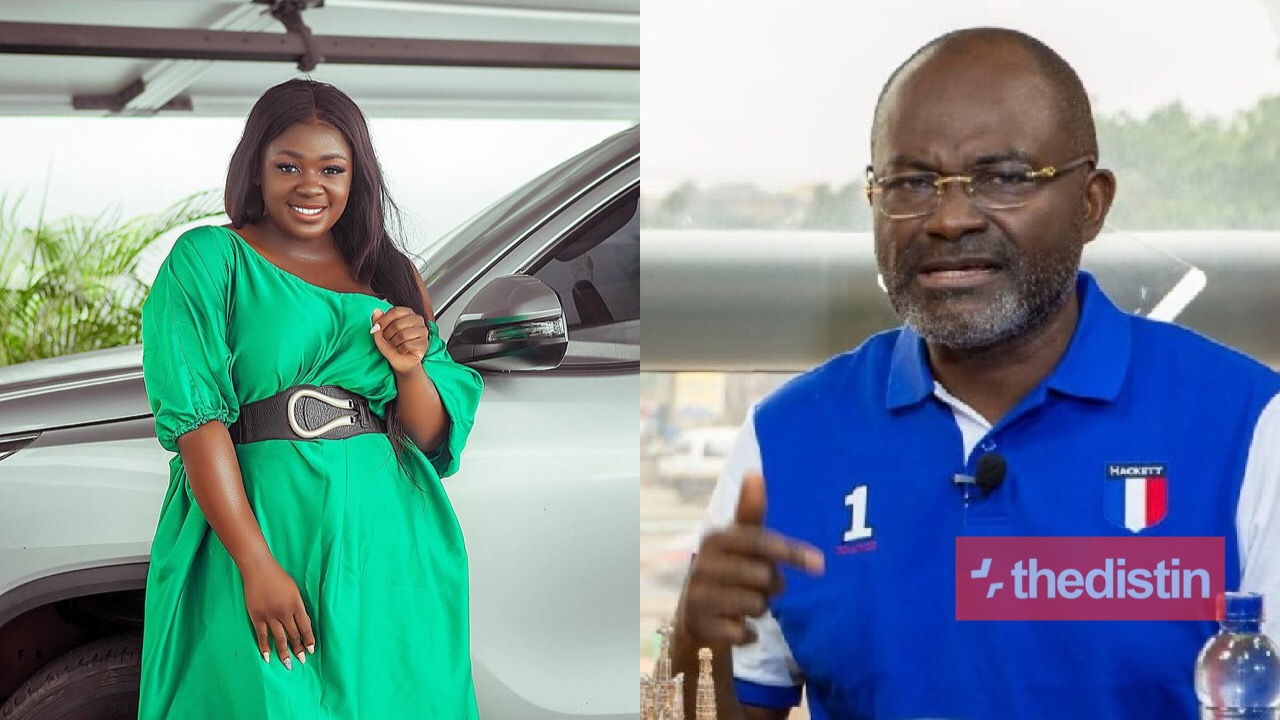Kennedy Agyapong and Tracey Boakye