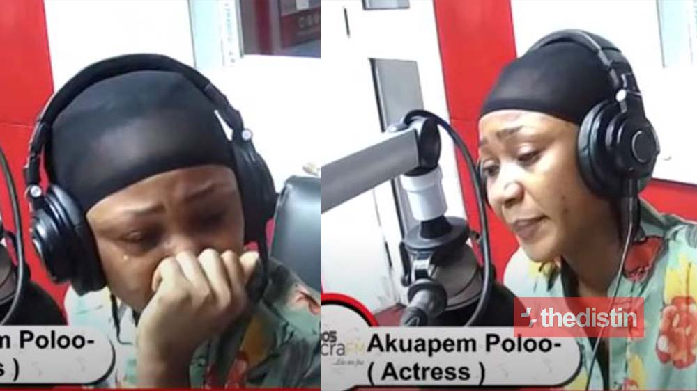 """""""I won't do it again"""" - Akuapem Poloo Cries After Court Grants Her GHC100,000 Bail Over Naked Photos With Her Son On His 7th Birthday"""