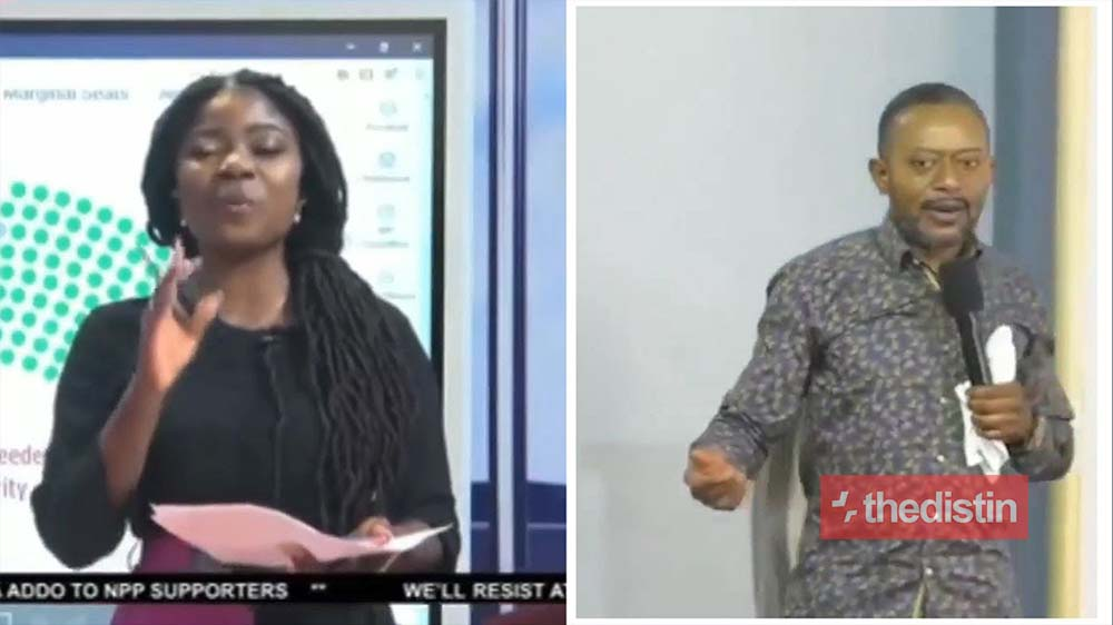 'A woman with masculine features' - Owusu Bempah Blasts Vim Lady For Calling Him Fαke Prophet (Video)