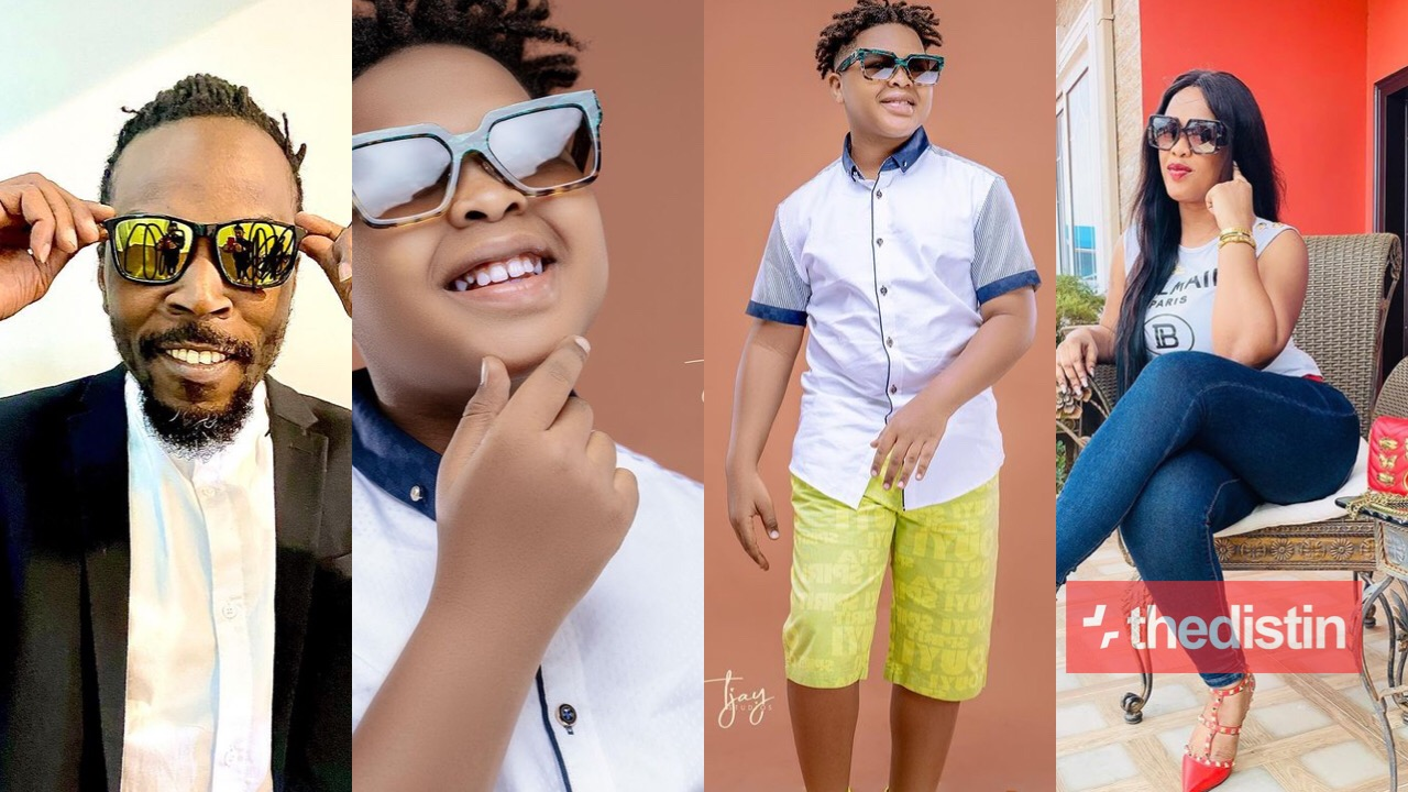 Kwaw Kese wife and son