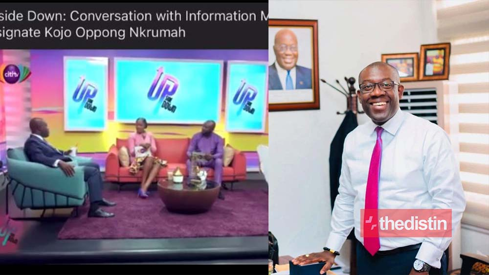 """Video Of Hon. Kojo Oppong Singing Akwaboah's Song """"Blow Mind"""" Ft Flowking Stone Causes A Stir On Social Media"""