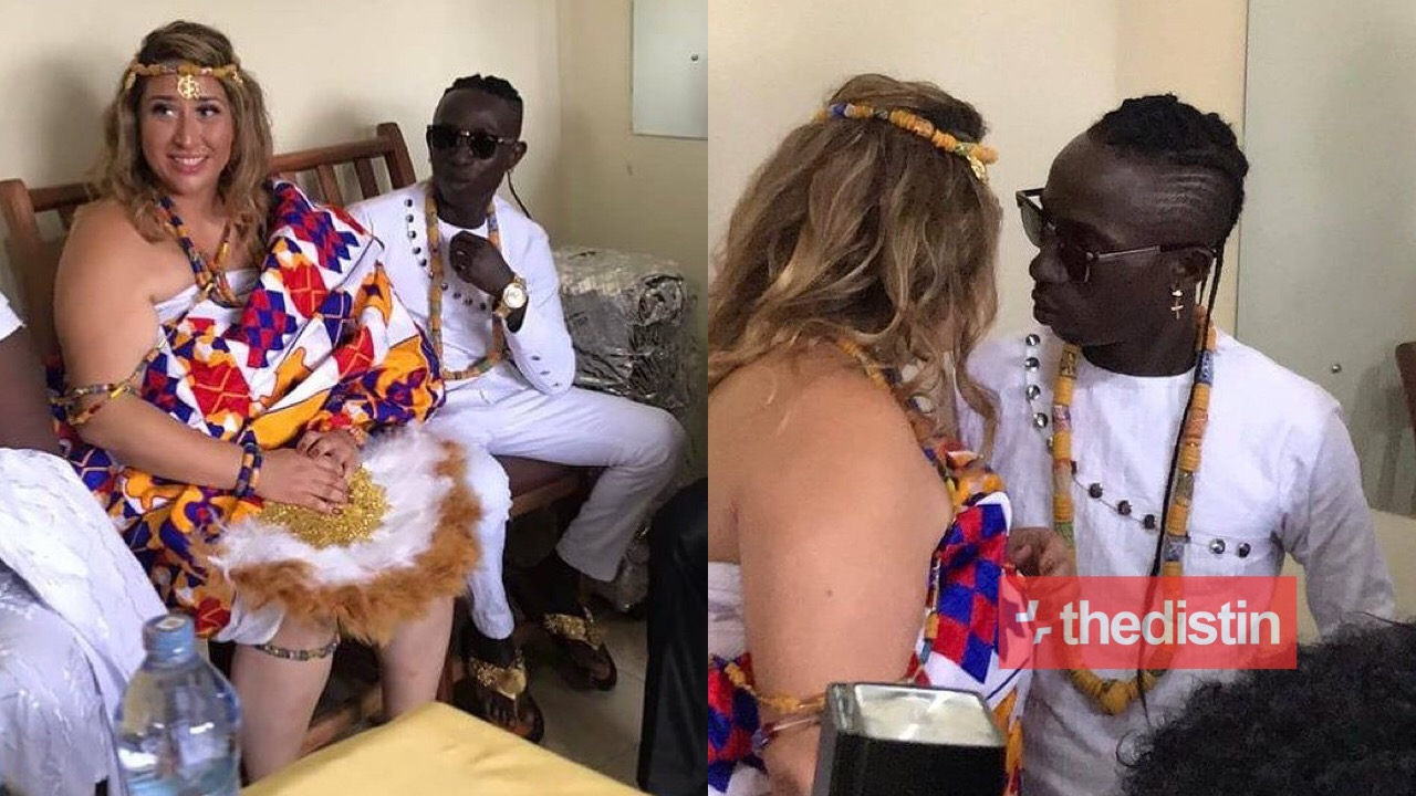 Patapaa And Liha Miller's Marriage Ceremony