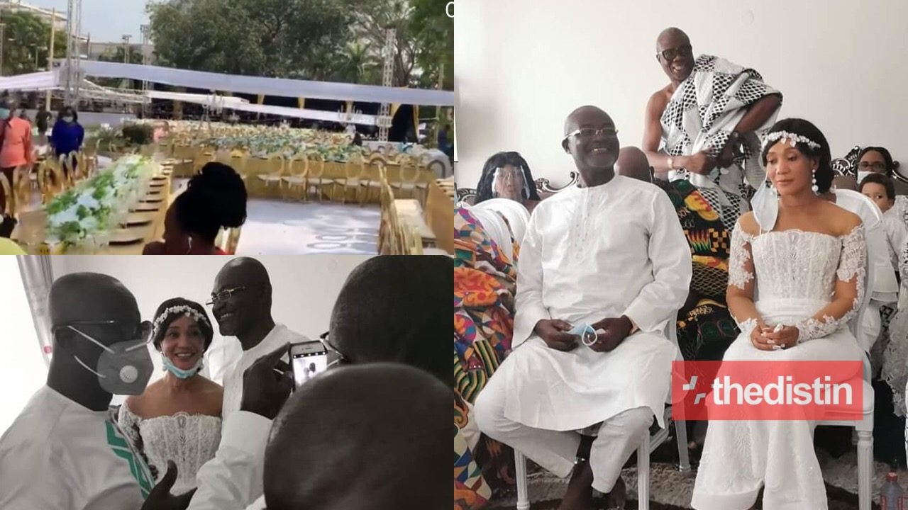 Kennedy Agyapong's Vow Renewal With 2nd Wife Aunty Christi