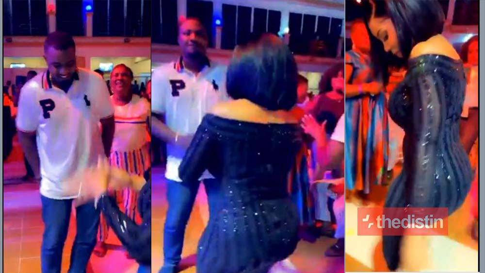 John Dumelo On The Dancing Floor With Serwaa Amihere At Amakye Dede & Kojo Antwi's Concert, Check Out Their Moves (Video)