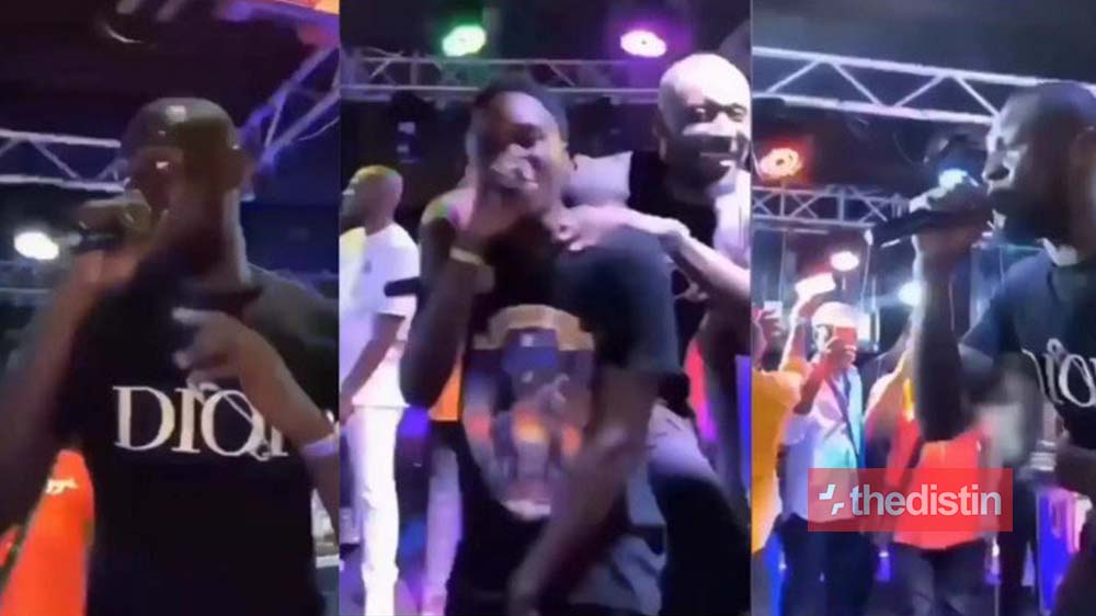 """British Rapper Stormzy Performs """"Sore"""" With Yaw Tog On Stage, Ghanaians React (Video)"""