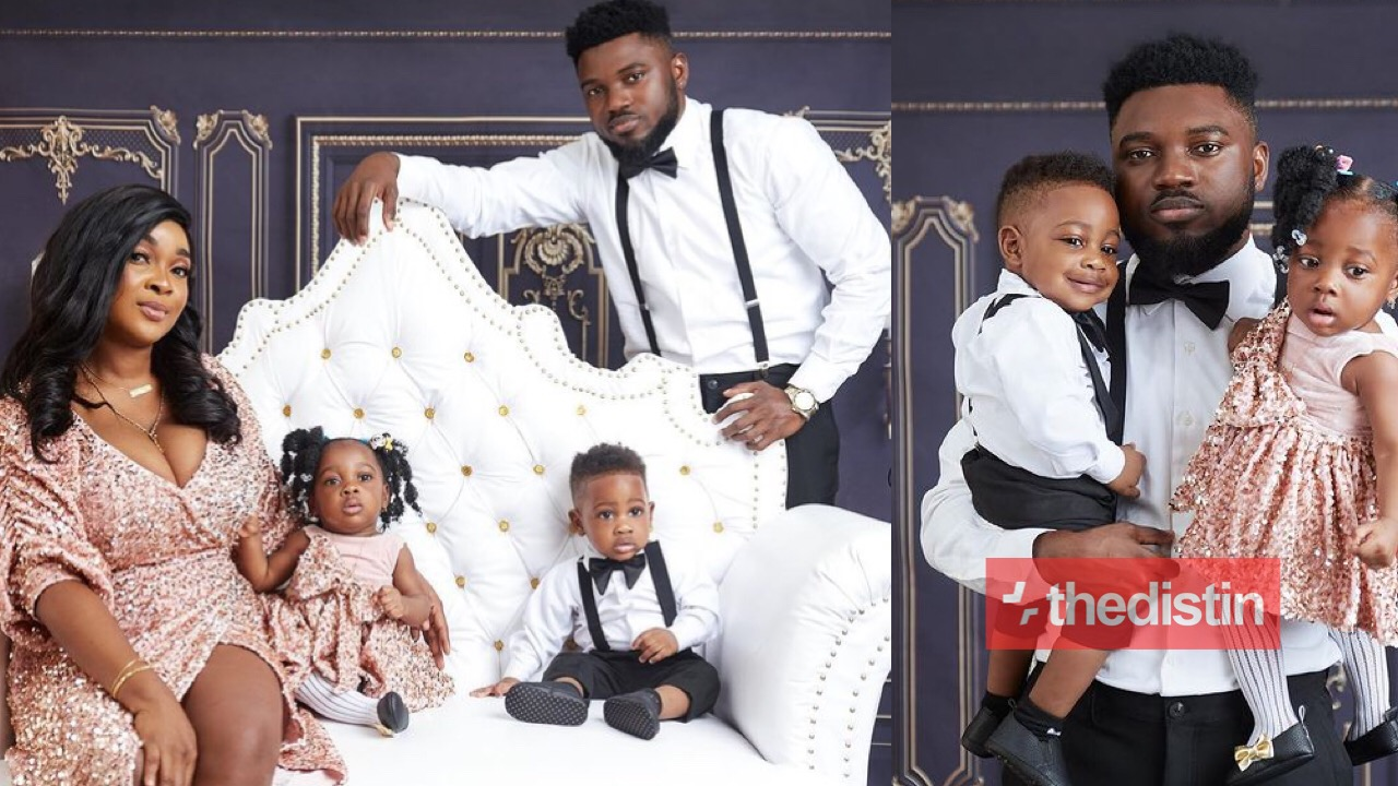 Donzy Chaka twins with their mother