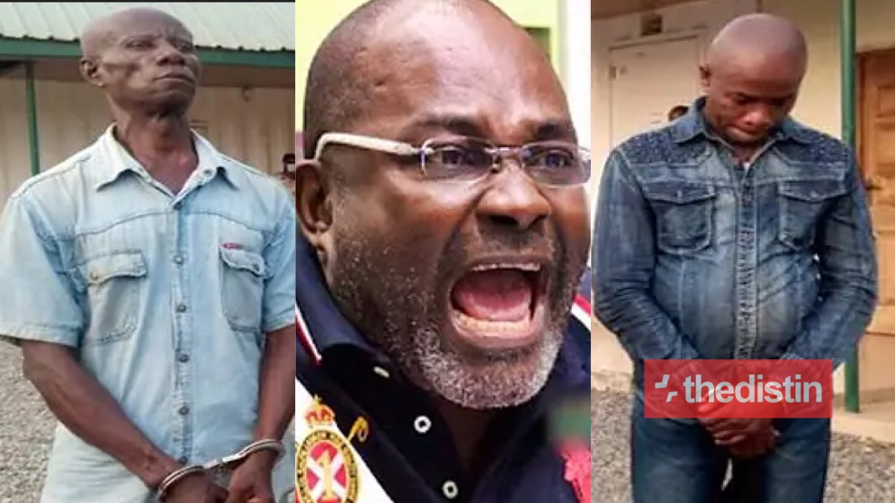 Angry Kennedy Agyapong Slaps Assin Fraudsters Arrested By lmmigration After Defrauding A Canadian Of Ghc600,000