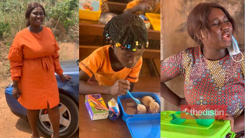 GES Pursue Abenah Serwaah Mankosa, The Female Teacher Who Uses Her Salary To Feed Her Student For Unacceptable Behavior, She Reacts (Photos)