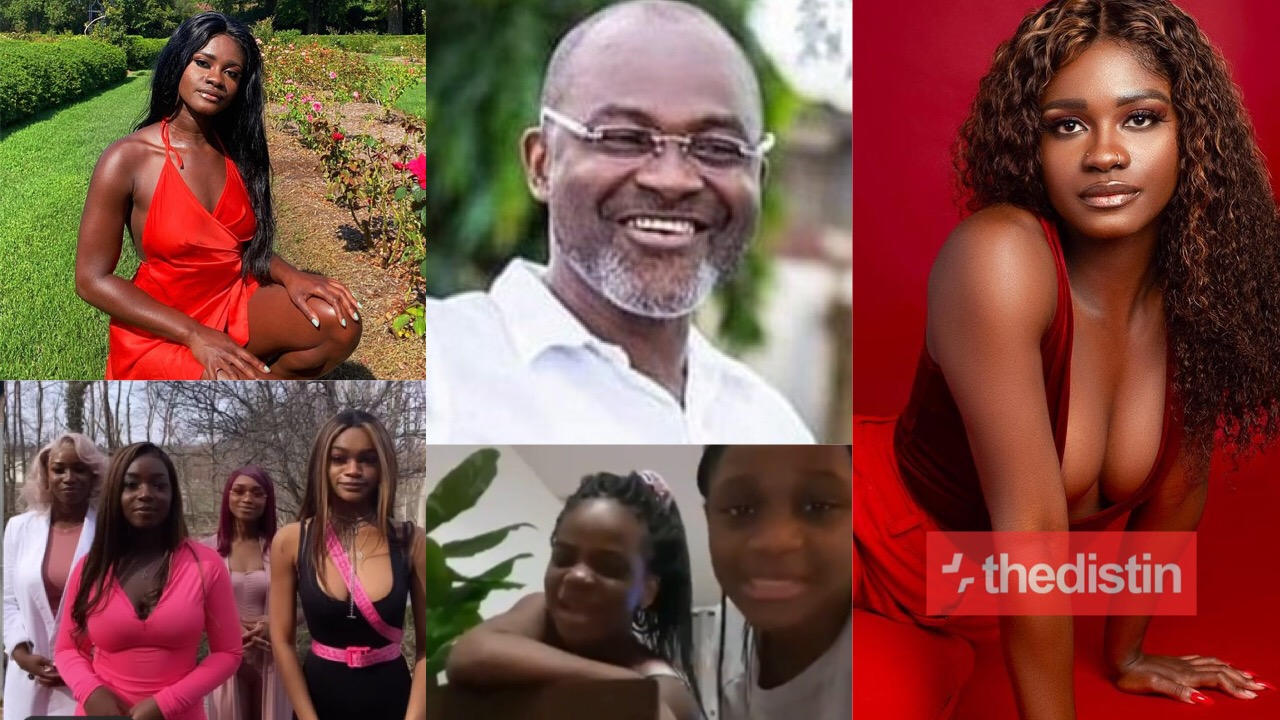 Kennedy Agyapong and daughter Anthonel