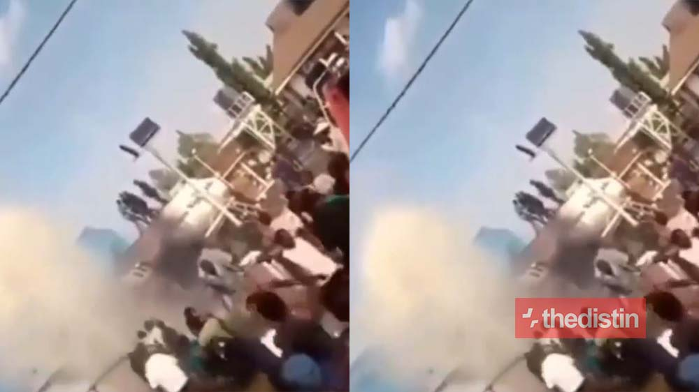 Sad: 75 People Hospitalized After A Petrol Tanker Explosion In Nigeria (Video)