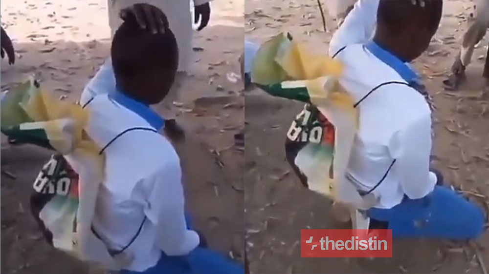Video Of Teachers Mocking A Student For Using Rice Sack As School Bag Goes Viral, Netizens React